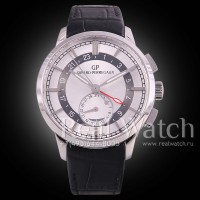 Girard-Perregaux 1966 Dual Time Steel/White (Арт. 072-001)
