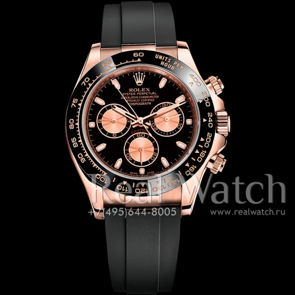Rolex Cosmograph Daytona Rose Gold/Black Dial (Арт. 048-362)
