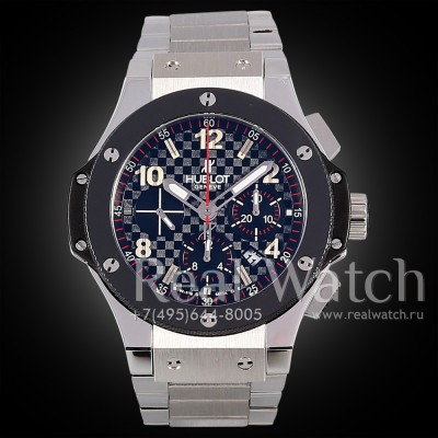 Hublot Big Bang 44 mm Steel Ceramic Bracelet (Арт. 029-224)