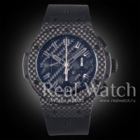 Hublot Big Bang 44 mm All Carbon 1:1 (Арт. 029-217)