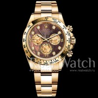 Rolex Cosmograph Daytona Yellow Gold Dark MOP Diamond Dial (Арт. 048-345)