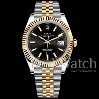 Rolex Datejust 41 Steel/Yellow Gold/Black Dial/Jubilee Bracelet (Арт. 048-352)