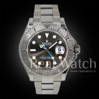 Rolex Yacht-Master 40 Steel and Platinum 1:1 (Арт. 048-296)