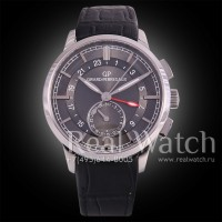 Girard-Perregaux 1966 Dual Time Steel/Black (Арт. 072-002)