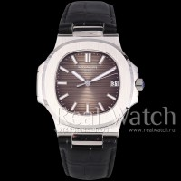 Patek Philippe Nautilus Steel/Brown
