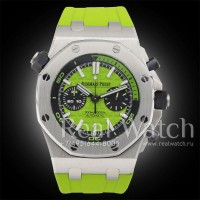 Audemars Piguet Royal Oak Offshore Diver Chronograph Green (Арт. 004-141)