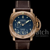 Panerai Luminor Submersible 1950 3 Days Automatic Bronzo Blue PAM671 (Арт. 040-116)