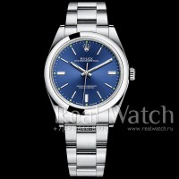 Rolex Oyster Perpetual 39 mm Blue Dial 1:1 (Арт. 048-347)